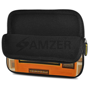 AMZER 7.75 Inch Neoprene Zipper Sleeve Pouch Tablet Bag - Good Old Days TV