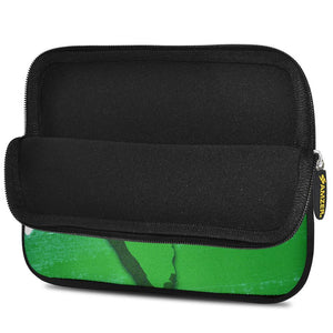 AMZER 7.75 Inch Neoprene Zipper Sleeve Pouch Tablet Bag - India Map Tiranga