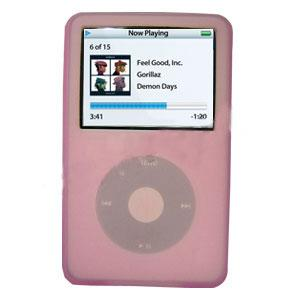 AMZER Skin - Pink for iPod Video 60GB