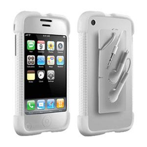 DLO Jam Jacket w/ Cable Management – Clear For iPhone