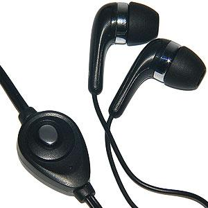 Stereo Earbud 3.5mm Headset – Black