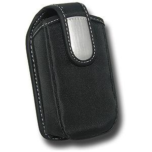 AMZER Durable Canvas Tough Case with Metal Belt Clip for BlackBerry 7130e