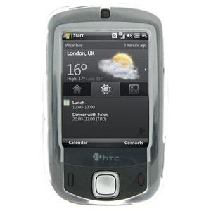 AMZER Crystal Case (CDMA Edition) with Belt Clip – Clear for HTC Touch
