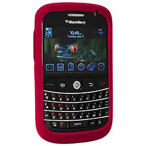 RIM (OEM) BlackBerry® Skin Case - Red - GB