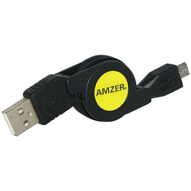 Amzer Micro USB Retractable Data Cable