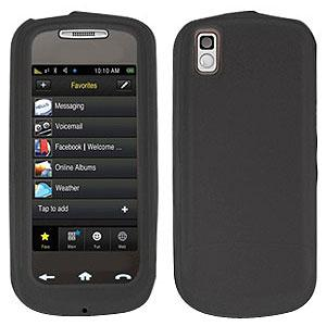 AMZER® Silicone Skin Jelly Case - Grey for Samsung Instinct s30 SPH-M810