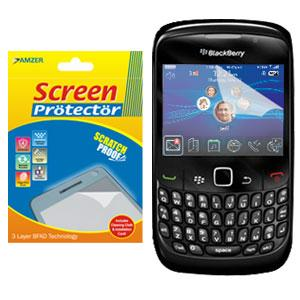 AMZER Kristal Clear Screen Protector for BlackBerry Curve 8520