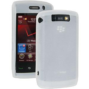 AMZER Silicone Skin Jelly Case for BlackBerry Storm 2 9550 - Lilly White