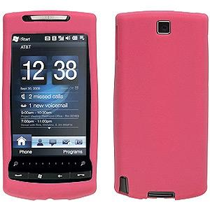 AMZER® Silicone Skin Jelly Case - Baby Pink for HTC Pure