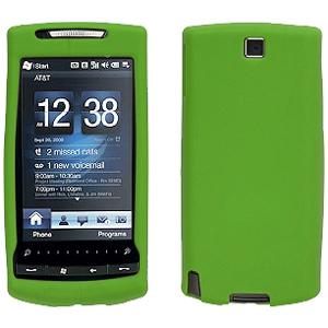 AMZER® Silicone Skin Jelly Case - Green for HTC Pure