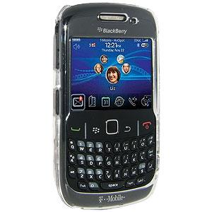 AMZER Clear Snap On Crystal Hard Case for BlackBerry Curve 3G 9300