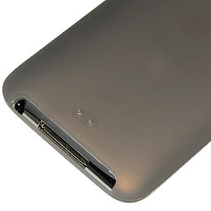 AMZER Silicone Skin Jelly Case for iPod Touch 2G - Grey