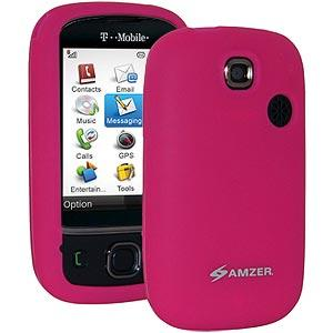 AMZER® Silicone Skin Jelly Case - Hot Pink