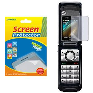 AMZER® Kristal™ Clear Screen Protector for Motorola i410