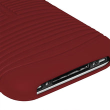 Load image into Gallery viewer, AMZER Wave Silicone Skin Jelly Case for iPhone 3G - Maroon