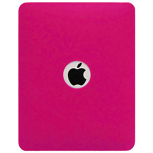 Amzer Soft Gel TPU Skin Case - Hot Pink for Apple iPad