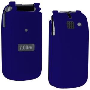 AMZER® Silicone Skin Jelly Case - Blue for Sanyo Mirro SCP-3810