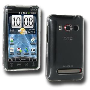 AMZER® Clear Snap On Crystal Hard Case for HTC EVO 4G