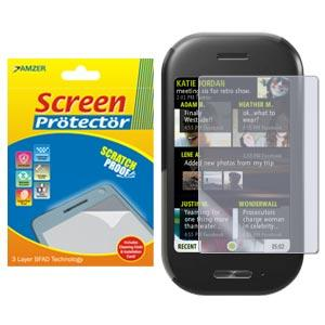 AMZER Kristal Clear Screen Protector for Microsoft KIN TWO