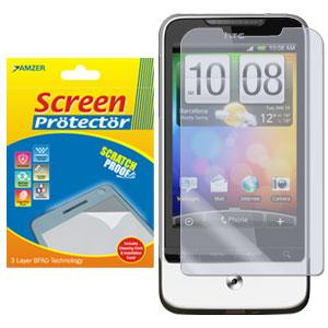 AMZER Kristal Clear Screen Protector for HTC Legend
