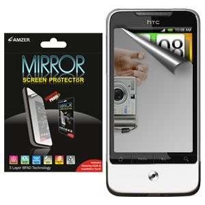 AMZER Kristal Mirror Screen Protector for HTC Legend