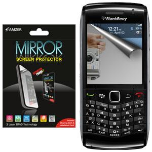 AMZER Kristal Mirror Screen Protector for Blackberry Pearl 9100