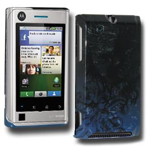 Winged Pheonix Click On Case for Motorola DEVOUR A555