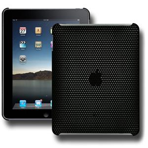 Perforated Click On Case - Black for Apple iPad