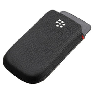 RIM (OEM) BlackBerry® Leather Pocket - Black for BlackBerry 9800/ Torch 9810 - GB