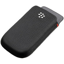 Load image into Gallery viewer, RIM (OEM) BlackBerry® Leather Pocket - Black for BlackBerry 9800/ Torch 9810 - GB