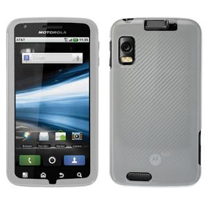 Protector Case - Clear for Motorola ATRIX 4G MB860