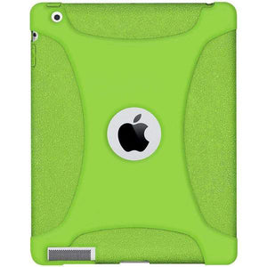 AMZER Shockproof Rugged Silicone Skin Jelly Case for iPad 3