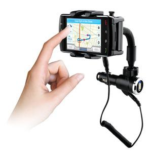 Naztech N4000 Universal Phone Mount and Charger