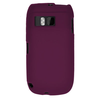 AMZER Silicone Skin Jelly Case for Nokia E6-00 - Purple