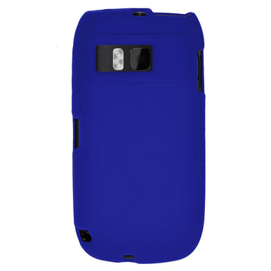 AMZER Silicone Skin Jelly Case for Nokia E6-00 - Blue