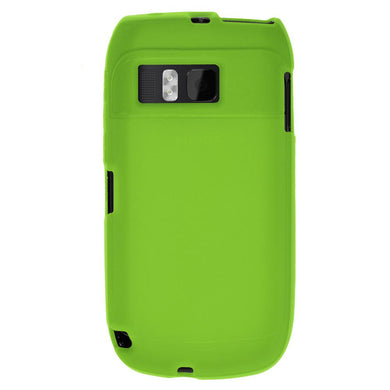 AMZER Silicone Skin Jelly Case for Nokia E6-00 - Green