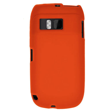 AMZER Silicone Skin Jelly Case for Nokia E6-00 - Orange