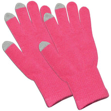 Load image into Gallery viewer, Amzer Capacitive Touch Screen Knit Gloves-Pink