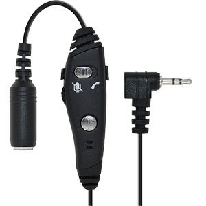 Amzer® Adapter for Cell Phone on Stereo Headset
