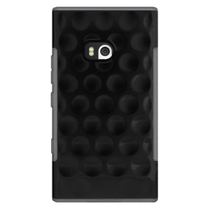 AMZER Hubble Bubble High Gloss TPU Soft Gel Skin Case - Black for Nokia Lumia 900