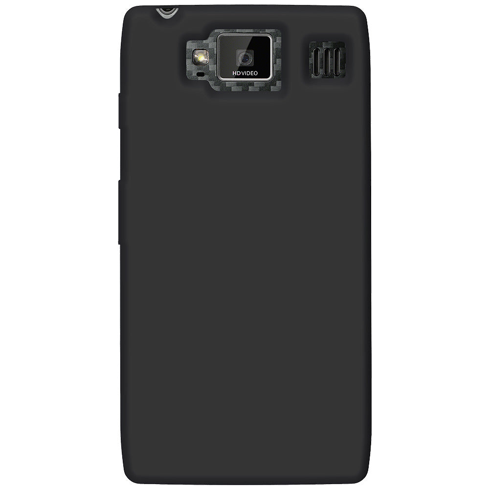 Amzer Silicone Skin Jelly Case - Black for Motorola RAZR HD XT925