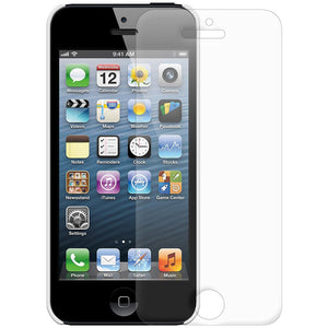 AMZER 1 MM Super Slim Simple Case with Screen Protector - White for iPhone 5