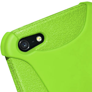 AMZER Shockproof Rugged Silicone Skin Jelly Case for iPhone 5 - Green