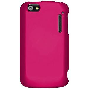 Rubberized Protector Case - Hot Pink for Alcatel Authority ADR3010C
