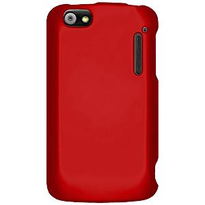 Rubberized Protector Case - Red for Alcatel Authority ADR3010C
