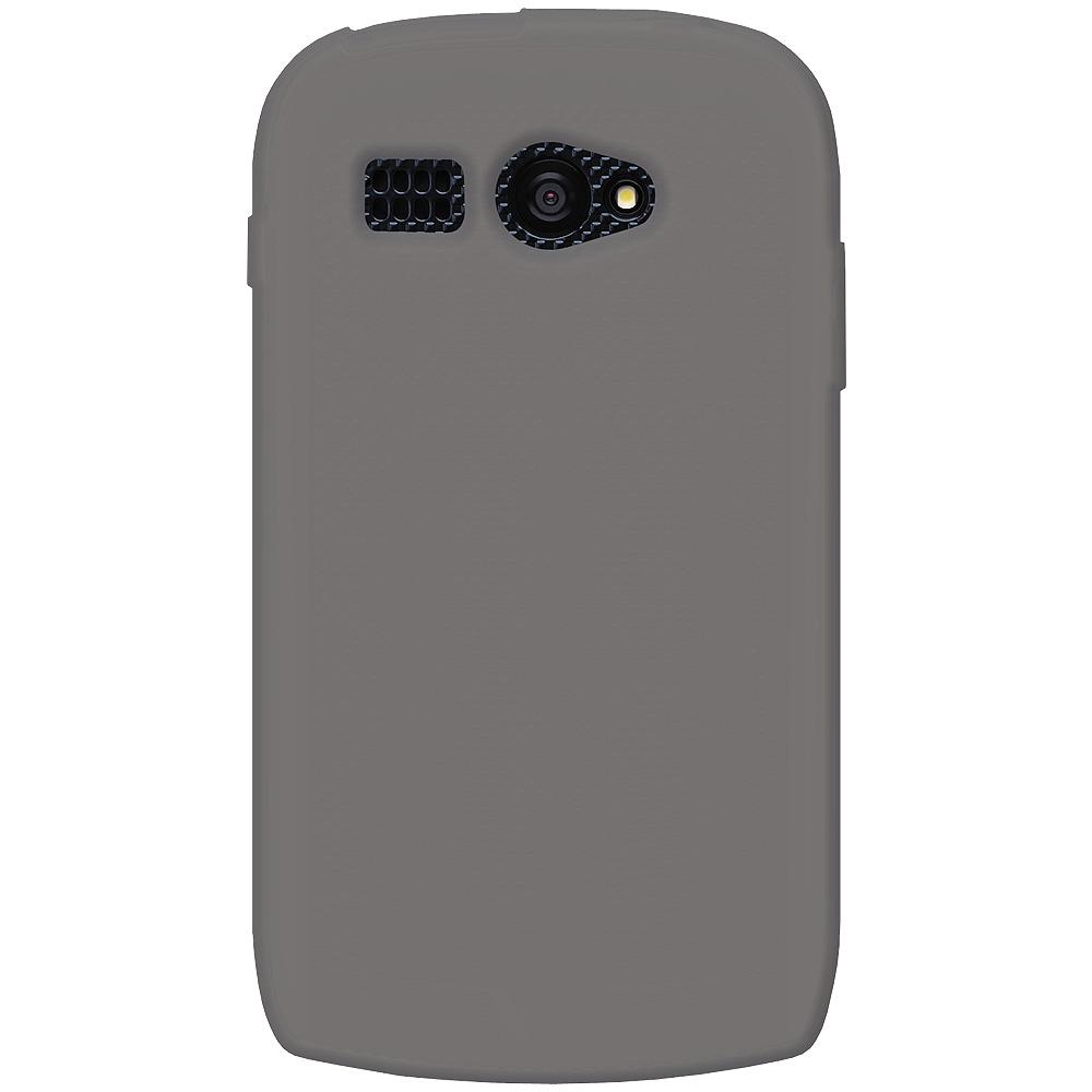 AMZER® Silicone Skin Jelly Case - Grey for Kyocera Hydro C5170