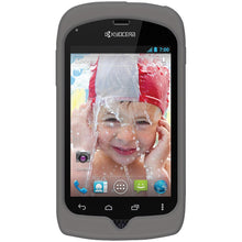 Load image into Gallery viewer, AMZER® Silicone Skin Jelly Case - Grey for Kyocera Hydro C5170