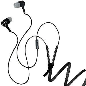 Zipper Stereo Y-Buds Headset - Black