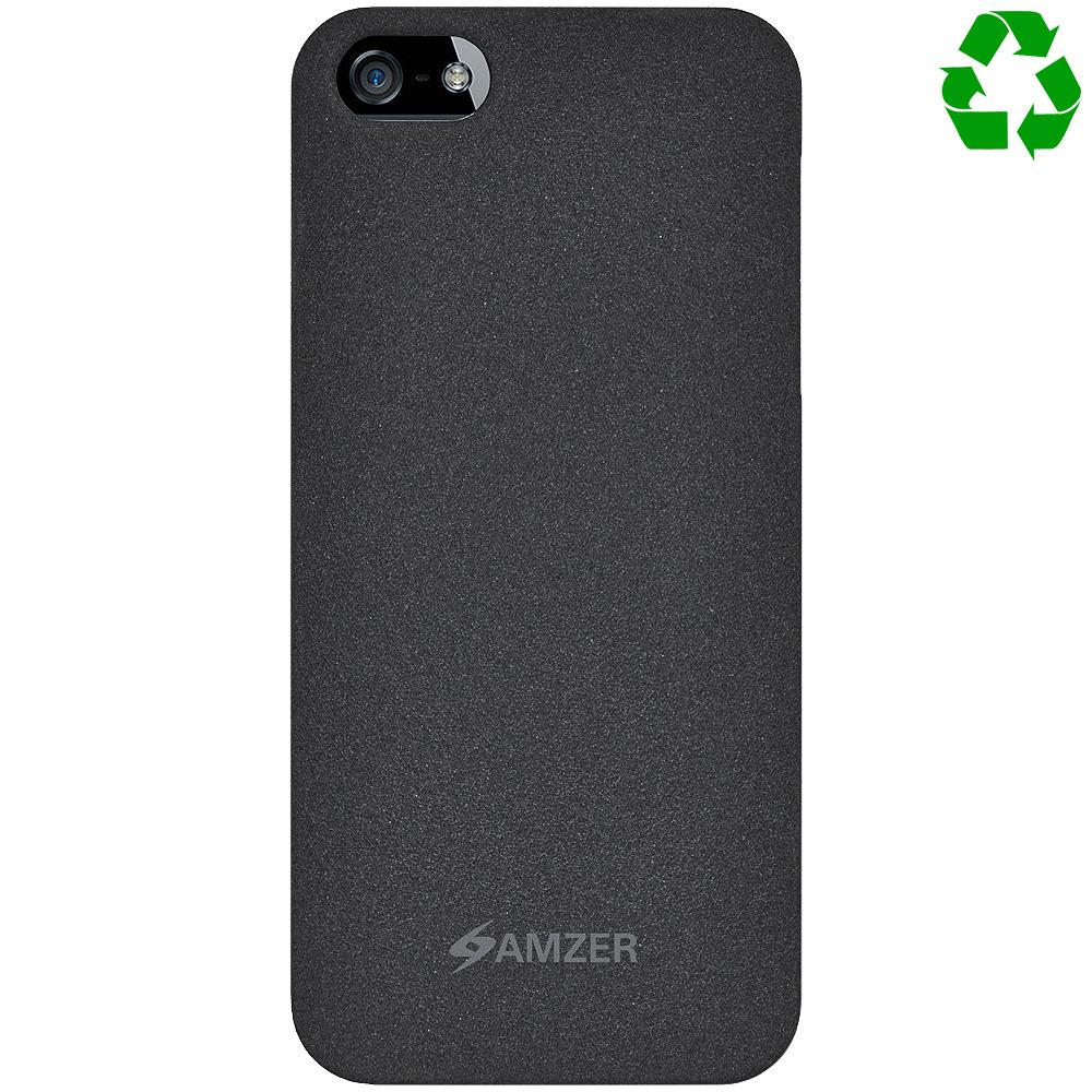 AMZER Organics Snap On Shell Case - Charcoal for iPhone 5
