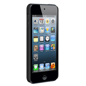 AMZER Snap On Case - Black for iPod Touch 5th Gen